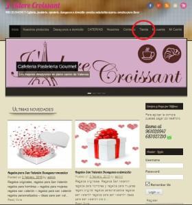 pagina inicio jadore croissant